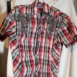 Roar short sleeve mens shirt
